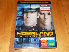 HOMELAND The Complete First Season Claire Danes TV Drama Series 4 DVD SET NEW
