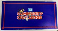 VINTAGE Coop Community Challenge Board Game