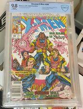 Uncanny X-Men 282 CGC CBCS 9.8 Newsstand 1st Bishop Very Rare