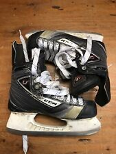 Ccm U San Jose Sharks Scott Nichol Game Worn Skates 8D Tuuk Custom Holder