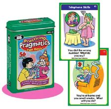 Practicing Pragmatics Flash Cards Super Duper Fun Deck Behavior Social Autism