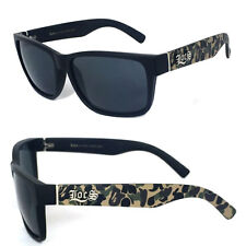 Locs Aviator Authentic Biker Motorcycle Sunglasses OG Style LC90 CAMOFLAUGE