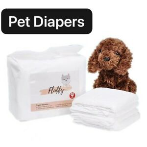 Dog Diaper Liners Booster Pads for Male and Female Dogs
