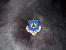 VINTAGE USAF AIR FORCE AF SPACE COMMAND SPACECOM BMEW SATELLITE NORAD SHIELD PIN