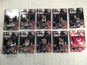 """NASCAR 1/64 scale Stock Car - THE """"DALE"""" COLLECTION with Car and Hood Magnet"""