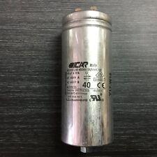 40uf Run Capacitor ICAR P2 Metal/aluminium 400/450/500v for Motor Pump Fan Air