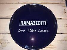 ❤️Ramazzotti Blau Tablett Serviertablett gummiert Gastro Tablett Anti...