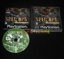 SPEC OPS STEALTH PATROL Ps1 Versione Italiana 1ª Edizione ••••• COMPLETO