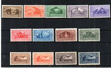 ITALY 1930 SCOTT# 248-256 & C23-C26 VIRGIL COMPLETE SET W/ AIRMAILS. CV $332.00
