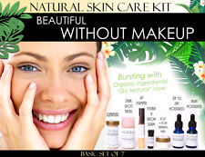 Beautiful Without Makeup Natural Skin Care Kit For Facial Features Enhancement 7