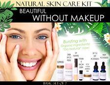 Beautiful Without Makeup Natural Skin Care Kit For Facial Features Enhancement 7
