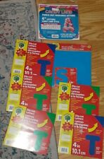 Nip Lot Of 7 Die Cut Letters For the Classroom (Teaching Tree)