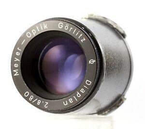 MEYER OPTIK DIAPLAN 2.8/80 * Projektionsobjektiv * 80mm F/2.8 * Projection Lens