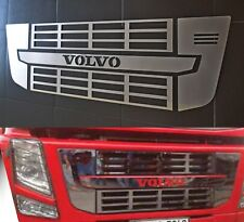 Mirror Polished Stainless Steel Front Grill Grid Mesh Cover for Volvo FH/FM
