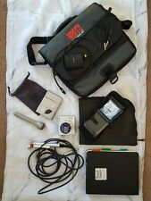 Md Players Portable MiniDisc Recorder Microphone Disks Bags Caller Round Dances