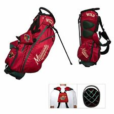 Authentic Team Golf Nhl Minnesota Wild 14 Divider Golf Bag Stand Bag