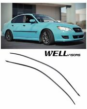For 05-09 Subaru Legacy WellVisors Side Window Visors Premium Series (Fits: Subaru)