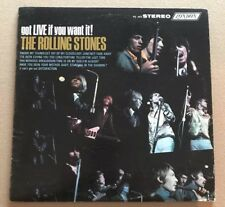 THE ROLLING STONES GOT LIVE IF YOU WANT IT! ORIG 1966 VINYL EXCELLENT CONDITION