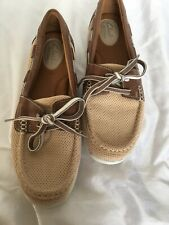 Clarks Artisan Women's Boat Shoes Leather Brown Size 7.5 M Lightweight