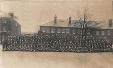 POSTCARD  MILITARY  WWI    Group  Line  Up     (  Unidentified  )   1918
