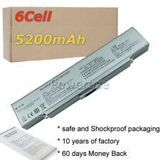 Battery For SONY Vaio VGP-BPS9 VGP-BPS9A/B VGP-BPS9/B VGP-BPS10 Silver Laptop