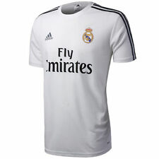 Camisetas de fútbol para hombres blancos adidas