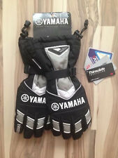 NEW YAMAHA TEAM GAUNTLET SNOWMOBILE GLOVE BY FXR BLACK size SM  size SMALL only