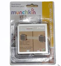 Munchkin Xtraguard Dual Action Multi Use Latch, 2-Pack