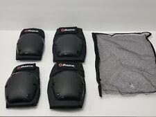 New Razor Deluxe Multi-Sport Elbow & Knee Safety Pad Black Medium Size(Open Box)
