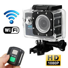 Waterproof Ultra HD 4K 1080p WIFI Sports Action Video Camera Go Pro Fit Mount