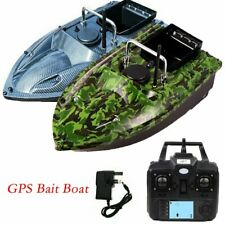 500M RC Carp Fishing Bait Boat w/GPS Position Hook Post Fish Finder Assist Angle