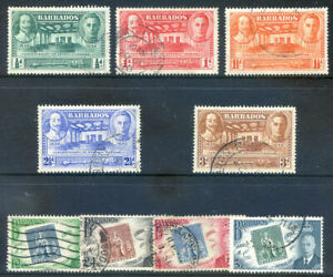 Barbados 1939 Tercent. General Assembly and Stamp Centenary used (2029/03/24#05)