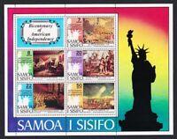 Samoa US Bicentennial MS MNH SG#MS464 SC#432a