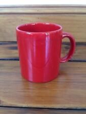 Waechtersbach Spain Red Glossy Valentines Christmas Xmas Ceramic Coffee Mug Cup