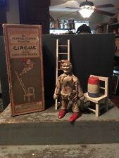 Rare Schoenhut Humpty Dumpty Circus #1 Set Cracker Jack Clown Complete W/box