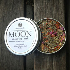 MOON Legal, Organic, Herbal Smoking Blended Tea • Smoke | Sip | Soak