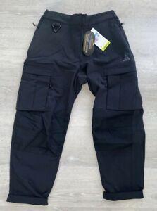 Nike ACG 'Smith Summit' Cargo Pants Black CV0617-010 Women's Size Medium New