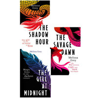Melissa Grey The Shadow Hour The Girl at Midnight 3 Books Collection Set PB NEW