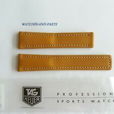 Tag Heuer S/EL GENUINE NEW Light Brown Leather Strap FC6006