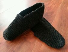 Handmade crochet slippers - extra durability, comfort and warmth