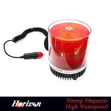 Amber LED Emergency Strobe Flashing Beacon Warning Lights for Car Truck Bus roof