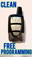 CLEAN CRIMESTOPPER KEYLESS ENTRY REMOTE CONTROL TRANSMITTER FOB Q6WBT5161B