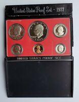 1977 S Proof Set US Mint Original Box 6 Coins