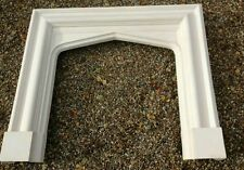 BRAND NEW GOTHIC/TUDOR PLASTER FIRE SURROUND - SPECIAL OFFER - PICK UP KENT