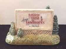 "1990 Lilliput Lane American Landmarks ""Sign Of The Times"" Display Figurine-R Day"