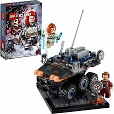 LEGO Marvel Avengers Taskmaster's Ambush 77905 Exclusive Black Widow Movie Kit!!