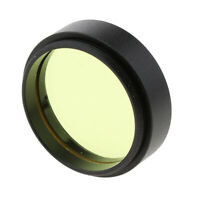 "Telescope Eyepiece Lens Filter Yellow 1.25""/31.7mm for Celestron Planet Sky"
