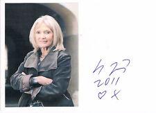 """Eva Jiřičná 1939- autograph signed 4""""x6"""" card Czech architect designer"""