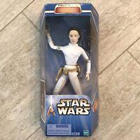 "2002 Star Wars Attack Of The Clones Padme Amidala 12"" Figure. New-in-box."