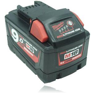 Batterie Milwaukee M18 18V 9,0Ah li-ion - Sony cells